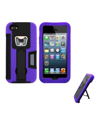 Purple Armor Case for iPhone 5