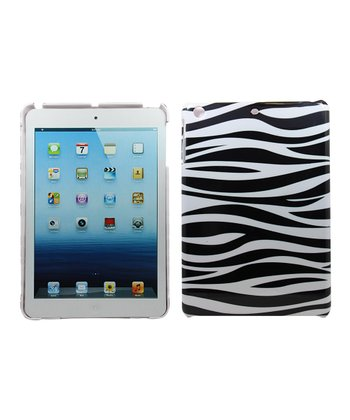 Black & White Zebra Case for iPad mini