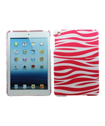 Pink Zebra Case for iPad mini