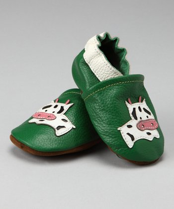Green Cow Booties