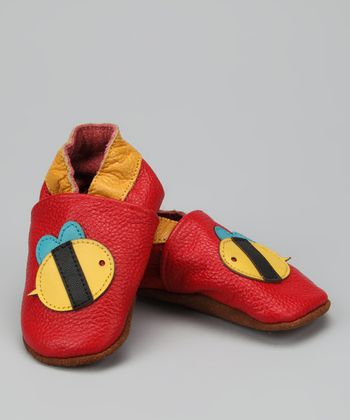 Vermillion Bumblebee Booties