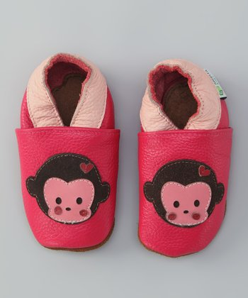 Pink Chunky Monkey Booties
