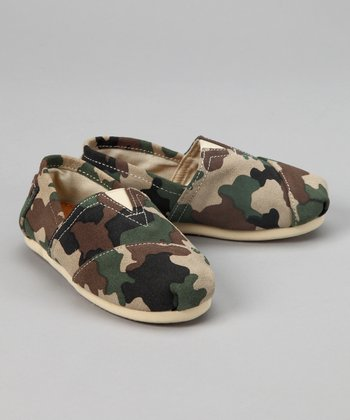 Camouflage Slip-On Shoe