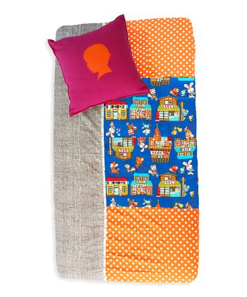 Buta Shop Patchwork Fitted Crib Sheet