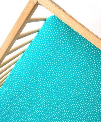 Aunt Bucky Tiny Bit Stars Fitted Crib Sheet