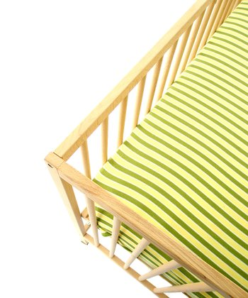 Yellow Sub Fitted Crib Sheet