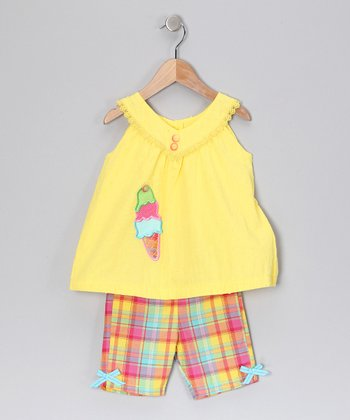 Yellow Top & Shorts - Infant