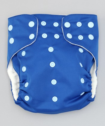 Deeply Blue Pocket Diaper