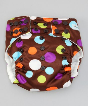 Polka Dots Pocket Diaper