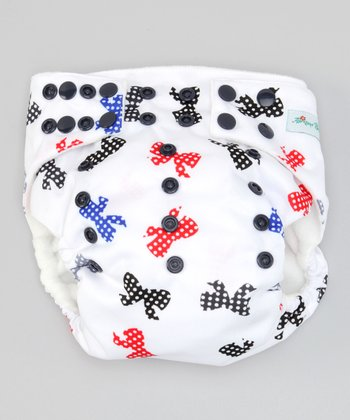 Bows Pocket Diaper