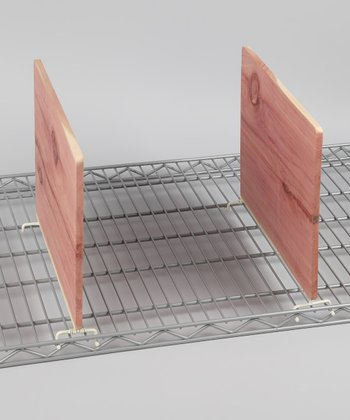 Cedar Wire Shelf Divider