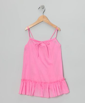 Pink Swing Tunic - Toddler & Girls