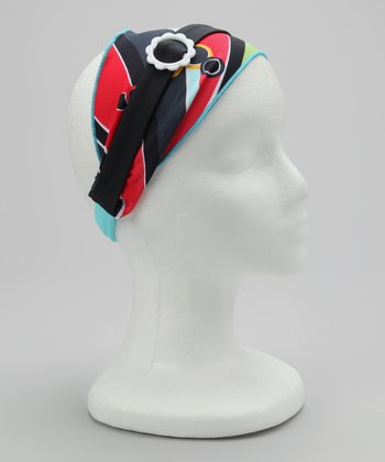 Blue Rockin' Retro Headband