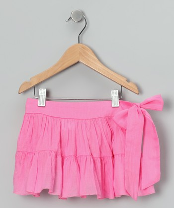 Pink Sash Skirt - Toddler & Girls