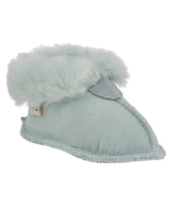 Light Blue Suede Hemlock Bootie - Kids