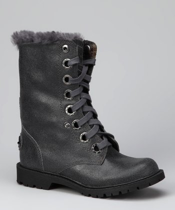 Charcoal Kayla Boot - Women