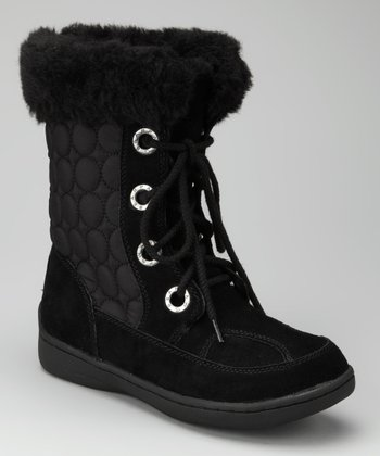 Black Suede Ralston Boot - Women