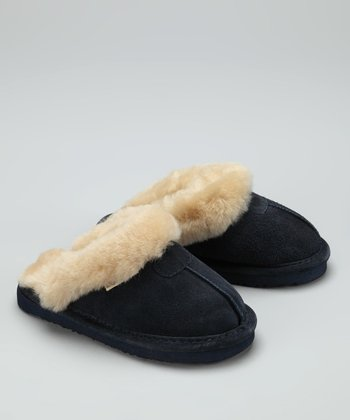 Navy Loki II Slipper - Kids