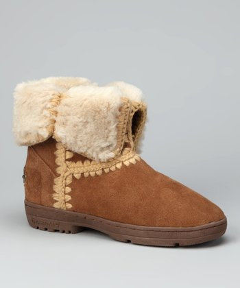 Hickory & Camel Suede Ashton Boot - Women