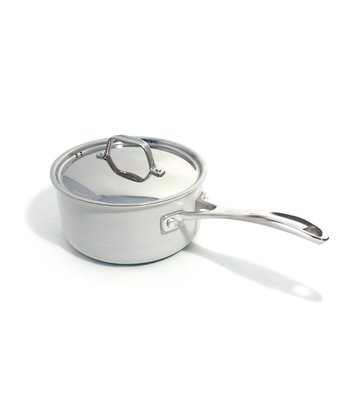 Cream Nonstick Chef Eco-logic Ceramica 8'' Saucepan