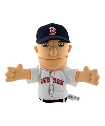 Red Sox Dustin Pedroia Hand Puppet