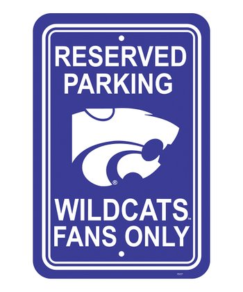 Kansas State Parking Sign