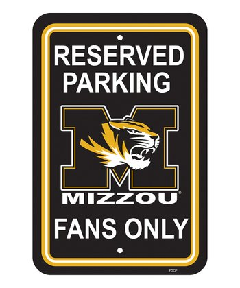 Missouri Parking Sign