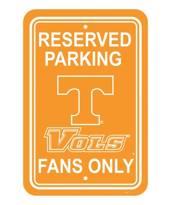 Tennessee Parking Sign