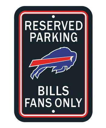 Buffalo Bills 'Reserved Parking' Sign