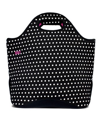 Mini Dot Black & White Everyday Tote