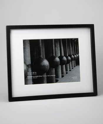 Black 20'' x 16'' Horizontal Gallery Frame