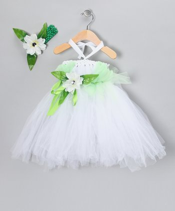Green Tutu Dress Dress & Headband - Infant, Toddler & Girls