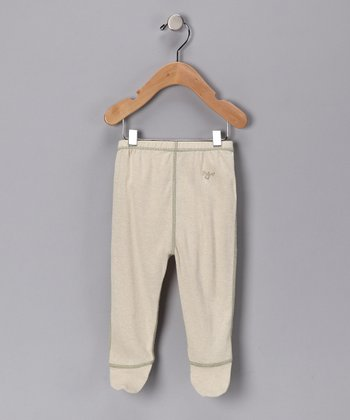 Green Tea Organic Footie Pants