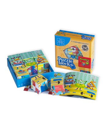 Monster Puzzle Blocks Set