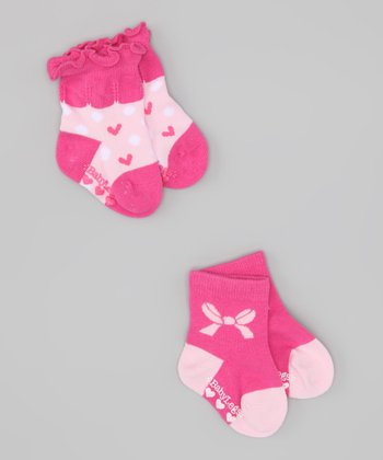 Pink Encore Socks Set