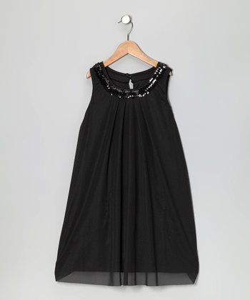 Baby Baby by Blush Black Dress - Infant & Girls