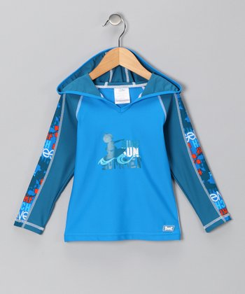 Blue Sun Surf Rashguard - Toddler & Kids