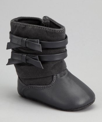 Pewter Bow Boot