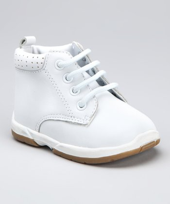 White Padded Boot