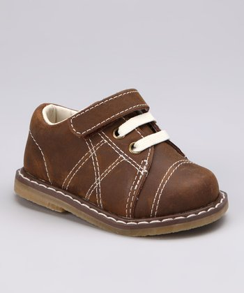 Brown Stitch Oxford