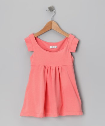 Baby Eggi Strawberry Ice Babydoll Dress - Toddler & Girls