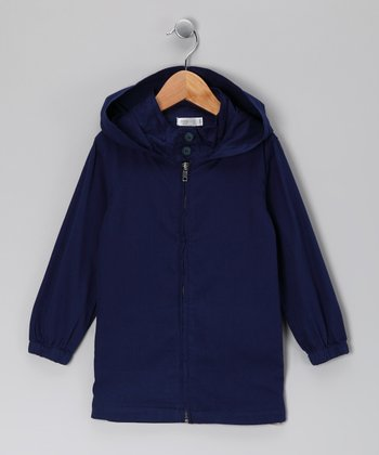 Baby Eggi Blue Depths Hooded Jacket - Toddler & Girls