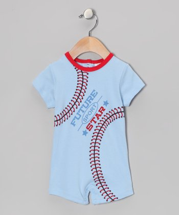 Blue 'Future Sport Star' Romper - Infant