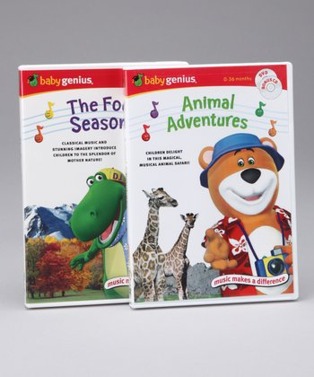 Animal Adventures & Four Seasons DVD Set