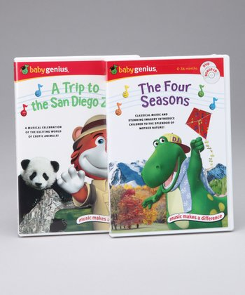 A Trip to the San Diego Zoo & The Four Seasons DVD Set