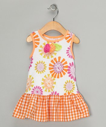 Cream Bliss Ella Dress - Toddler