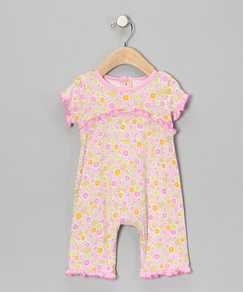 Light Pink Ruffle Romper - Infant