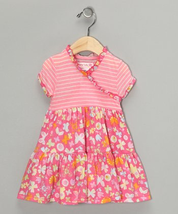 Pink Sweet Treat Rosa Dress - Infant