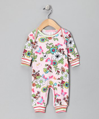 Pink Madame Butterfly Playsuit - Infant