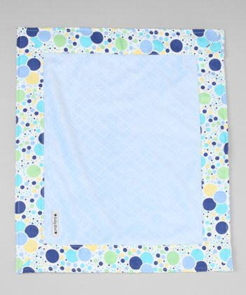 Blue Balloons Security Blanket